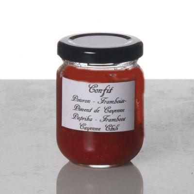 Poivron framboise piment de Cayenne
