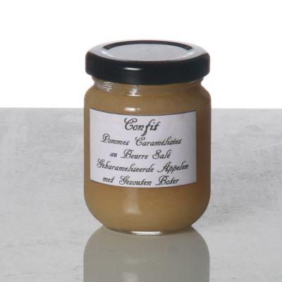 Pommes caramélisées au beurre salé