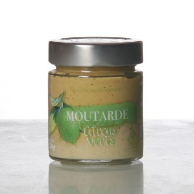 Moutarde Citrons Verts