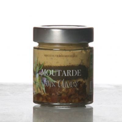 Moutarde aux Olives