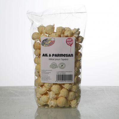 Pop-Corn Ail et Parmesan