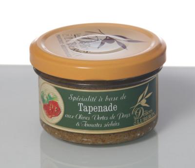 Olives vertes tom. séchées