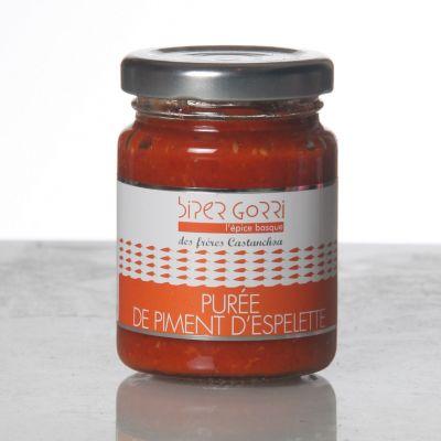 Purée (Crème) de piment  d'Espelette