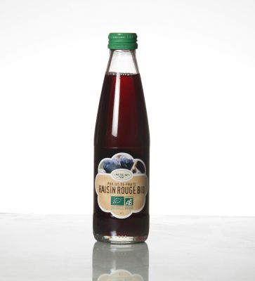 Jus raisin Rouge 25cl
