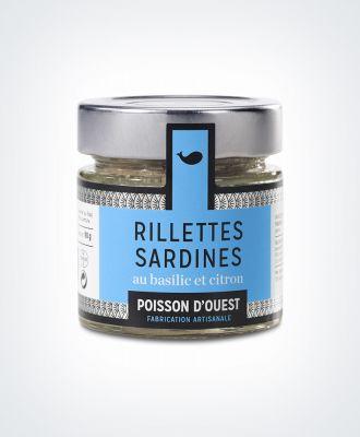 Sardines basilic et citron