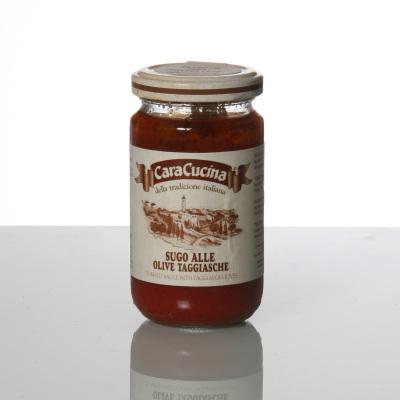 Sauce tomate et olives