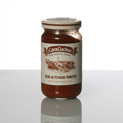 Sauce tomate et cèpes