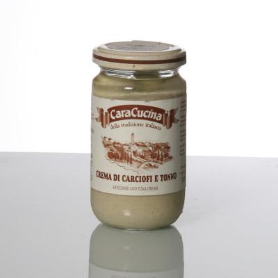 Crème thon artichauts