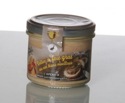 Délice de foie gras vin blanc
