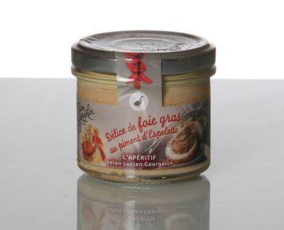 Délice foie gras p. d'Espelette