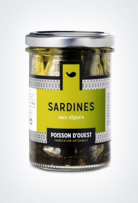 Sardines debout algues