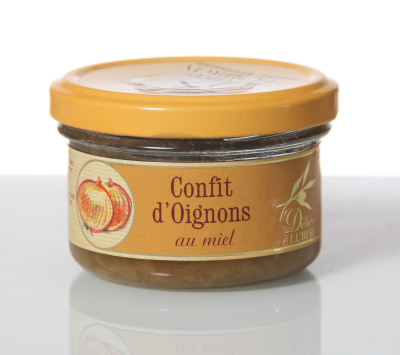 Confit d'oignons au miel