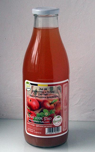 Pomme fraise
