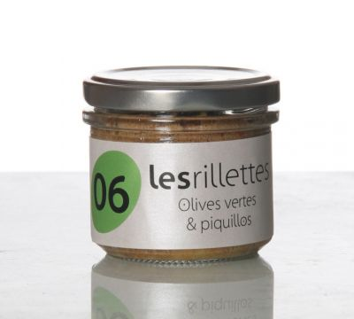 Rillette olives piquillos