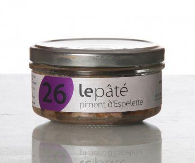 Paté piment Espelette