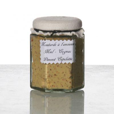 Moutarde miel cognac p. espelette