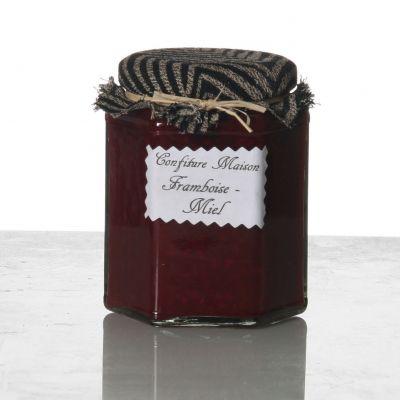 Confiture framboise miel